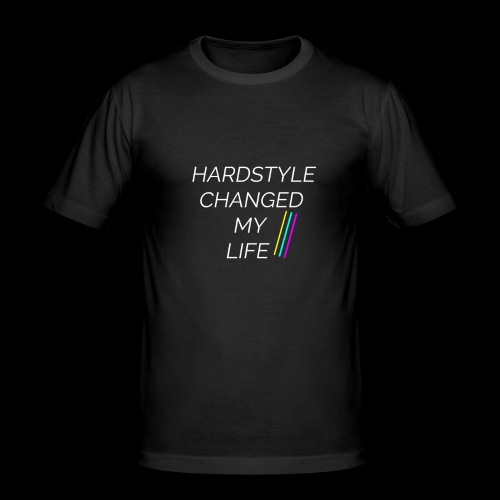 Hardstyle Changed my Life! - Männer Slim Fit T-Shirt