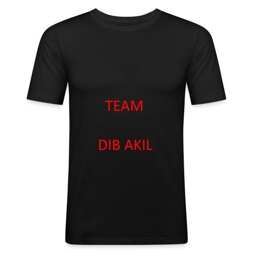 TEAM DIB AKIL - Männer Slim Fit T-Shirt
