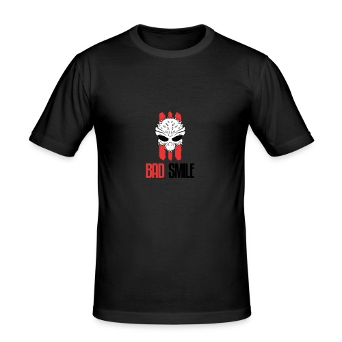 BadSmile - Männer Slim Fit T-Shirt
