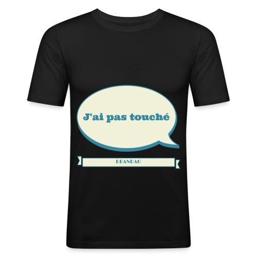 pas-touché-brandao - T-shirt près du corps Homme