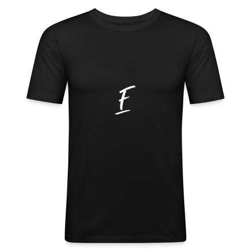Radio Fugue F Blanc - T-shirt près du corps Homme