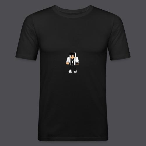 GAMER7HD_3D - Männer Slim Fit T-Shirt