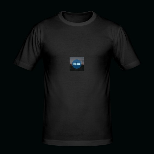 Game bros T-shirt - Männer Slim Fit T-Shirt