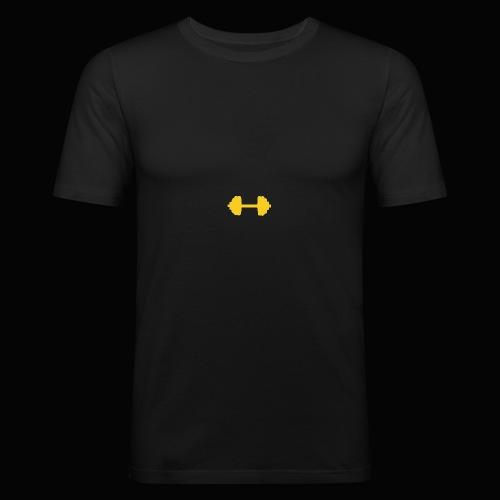 Hantel - Männer Slim Fit T-Shirt