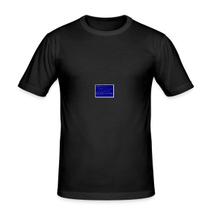 Blue SocialSocial screen - Herre Slim Fit T-Shirt