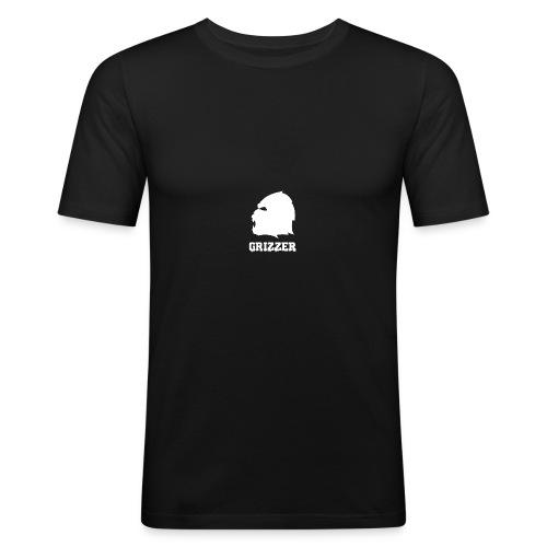 GRIZZER BLANC - T-shirt près du corps Homme