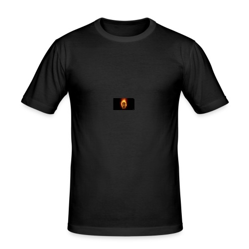 Scorched Logo - Men's Slim Fit T-Shirt