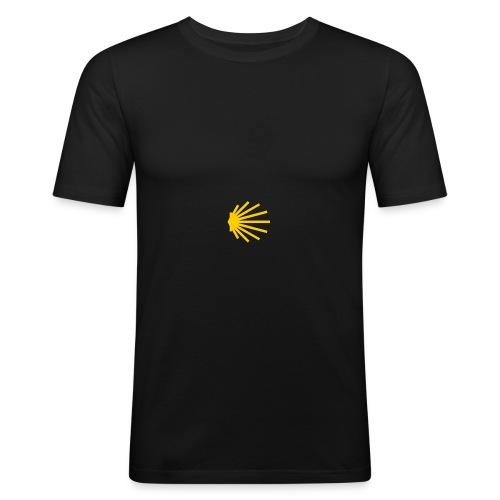 Küstenweg-Jakobsweg.de - Männer Slim Fit T-Shirt