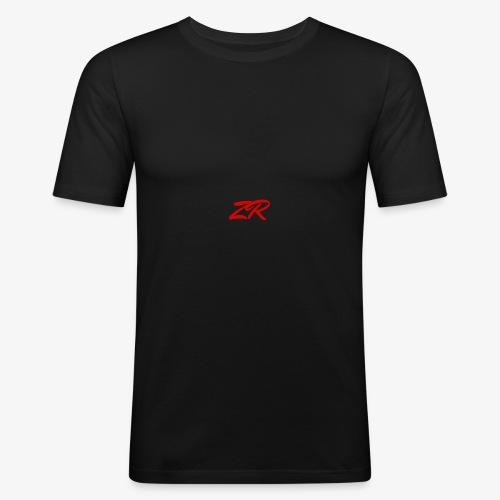 Signature 2017 - Red Logo - Men's Slim Fit T-Shirt