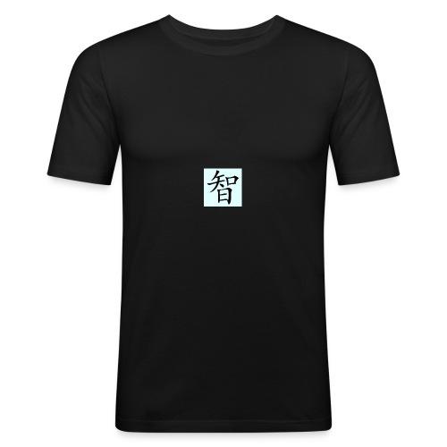 Wisdome - Slim Fit T-shirt herr