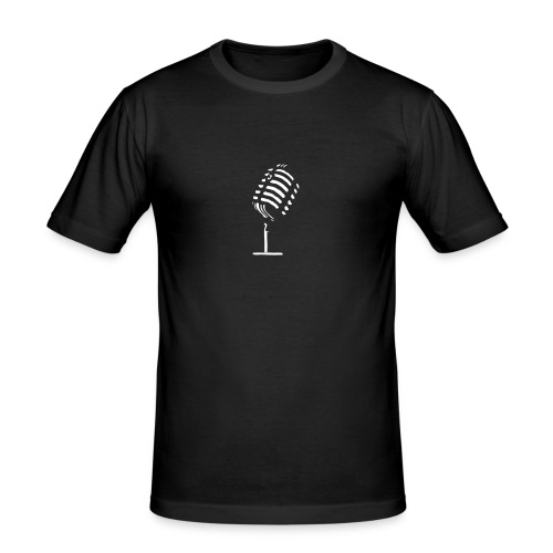 Logo_Mic - Männer Slim Fit T-Shirt