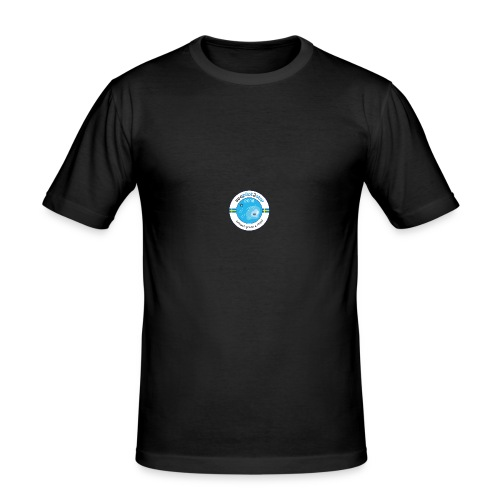Seapilot2star 2018 logotyp - Slim Fit T-shirt herr