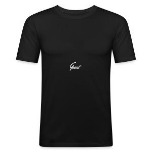 GUEERT Pet Zwart - slim fit T-shirt