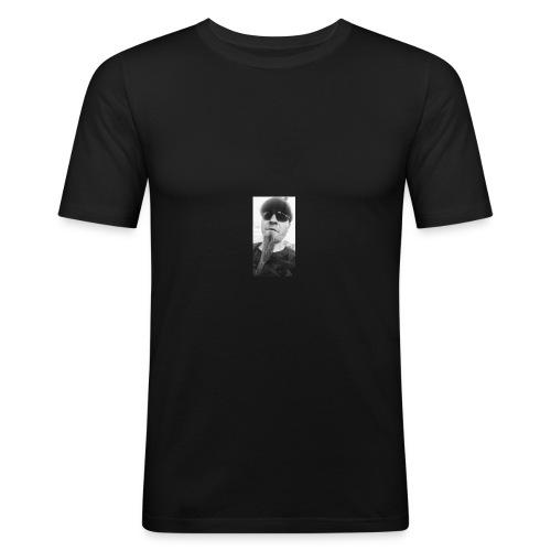 Spitzbart - Männer Slim Fit T-Shirt