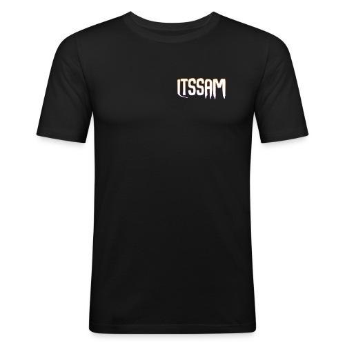 ItsSam Original Logo - Men's Slim Fit T-Shirt