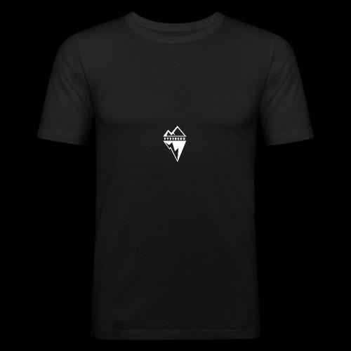 Eyesberg Tshirt Noir - T-shirt près du corps Homme