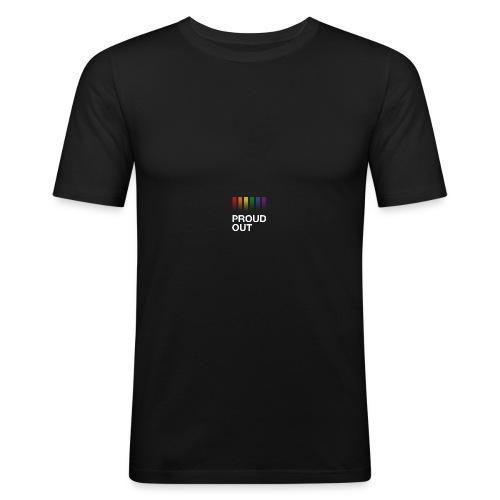proudout.com - Men's Slim Fit T-Shirt