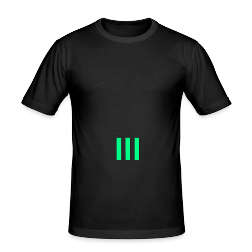 III Logo - Men's Slim Fit T-Shirt