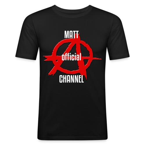 MATT official CHANNEL - Maglietta aderente da uomo