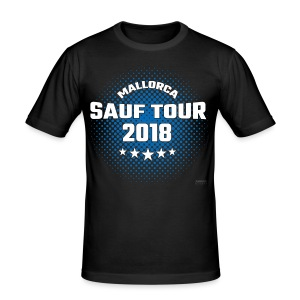 Mallorca SAUF TOUR - 2018 - Männer Slim Fit T-Shirt