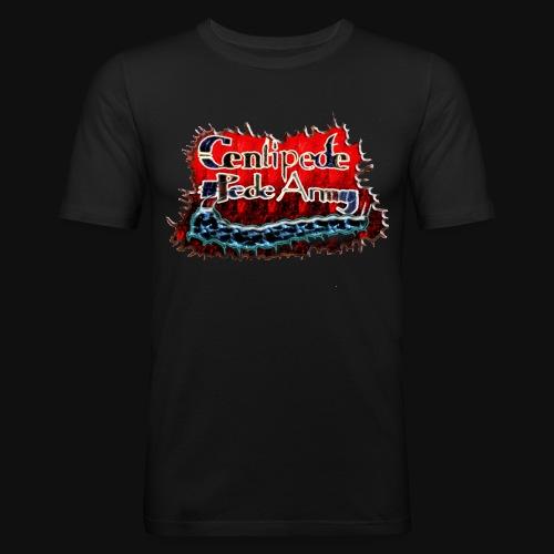 Pede Army Merch - Männer Slim Fit T-Shirt