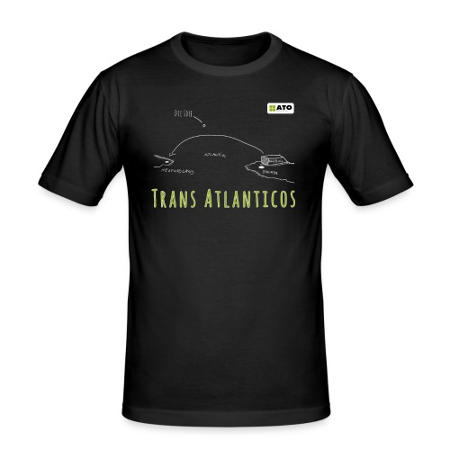Trans Atlanticos - Die Idee - Männer Slim Fit T-Shirt