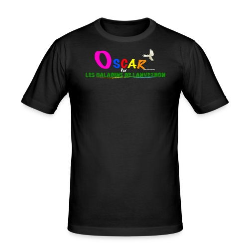 Oscar Les Baladins de Lanvezhon - T-shirt près du corps Homme