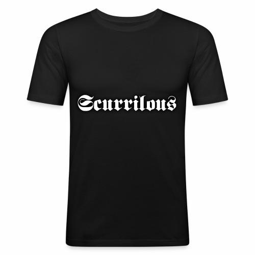Scurrilous Season 2 - Men's Slim Fit T-Shirt
