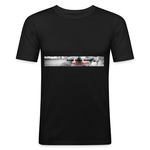 Gang. Gang. Grrruu. - Männer Slim Fit T-Shirt