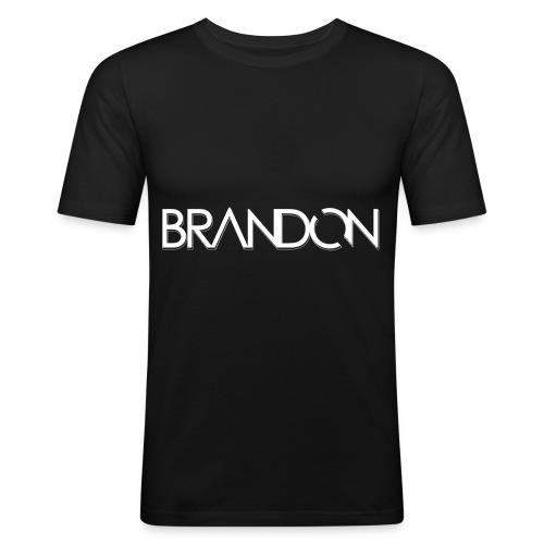 DJ BRANDON - Männer Slim Fit T-Shirt