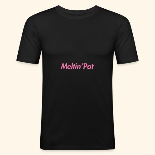 Meltin'Pot - Maglietta aderente da uomo