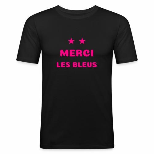 MERCI LES BLEUS - T-shirt près du corps Homme
