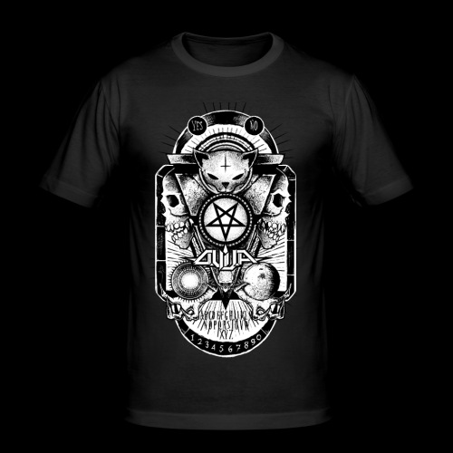 Logo Ouija complet - T-shirt près du corps Homme