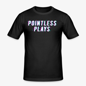 T-Shirt Pointless Logo - Men's Slim Fit T-Shirt