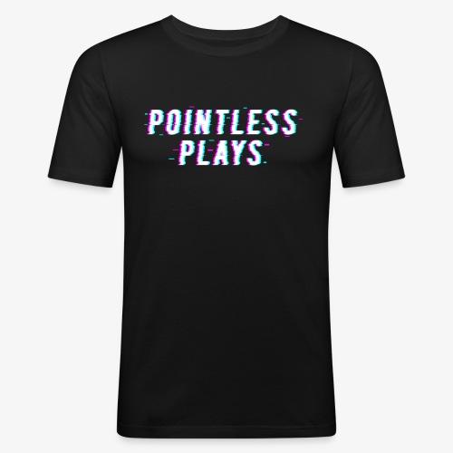 T-Shirt Pointless Logo - Men's Slim Fit T-Shirt