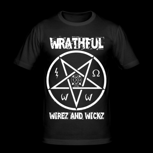 Wrathful Wirez PentaWrath - Men's Slim Fit T-Shirt