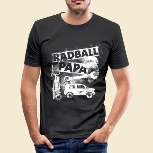 Radball   Papa - Männer Slim Fit T-Shirt