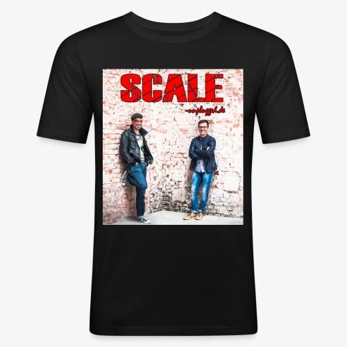 SCALE unplugged Foto - Männer Slim Fit T-Shirt