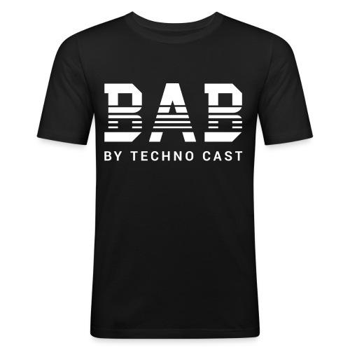 BAB white - Männer Slim Fit T-Shirt
