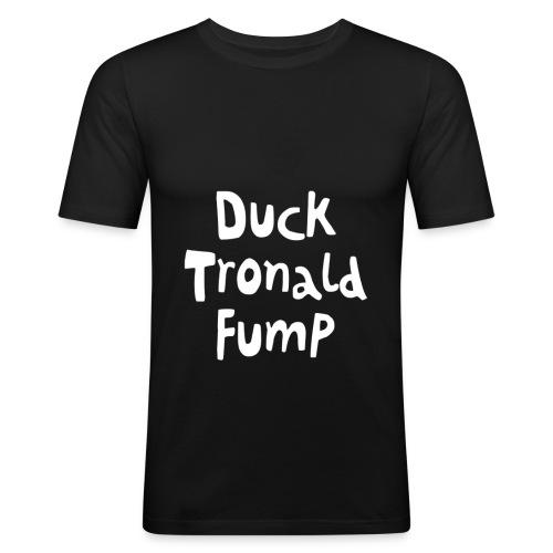 Duck Tronald Fump - Männer Slim Fit T-Shirt