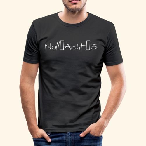 Null-Acht-15 - Männer Slim Fit T-Shirt