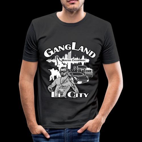 Gangland LE City - Männer Slim Fit T-Shirt