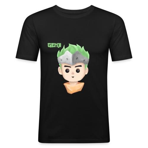 Young Genji - Made by Alpha - Männer Slim Fit T-Shirt