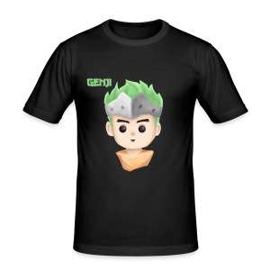 Young Genji - Made by Alpha - Männer Slim Fit T-Shirt