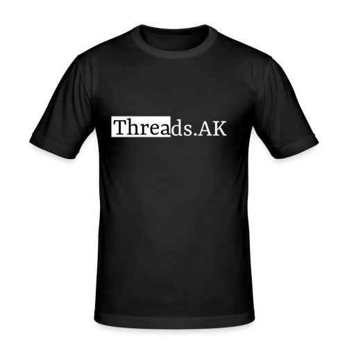 Threads.AK silhouette - Men's Slim Fit T-Shirt