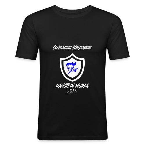 SHIRT COVER ROB FINAL 01 - Men's Slim Fit T-Shirt