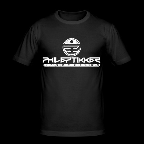 Phileptikker (black) - Männer Slim Fit T-Shirt