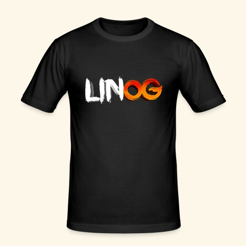 LinOG Logo - Slim Fit T-shirt herr