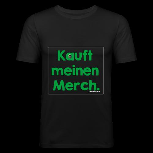 KmM mit Logo - Männer Slim Fit T-Shirt