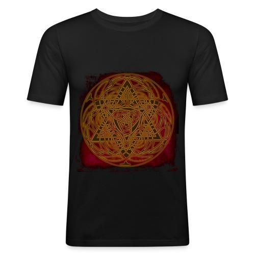 keltenlogo - Männer Slim Fit T-Shirt